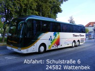 Abfahrt: Schulstraße 6, 24582 Wattenbek